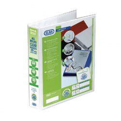 Elba A4 40mm 4D-Ring Presentation Binder White 400001300