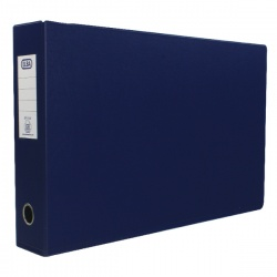 Elba Plastic Lever Arch File A3 70mm Blue (Pack of 2) 400008441