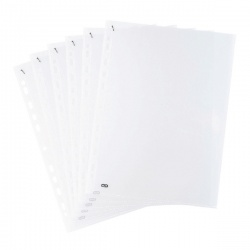 Elba Clear Quick Punched Pockets (Pack of 100) 400012939