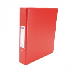 Elba 2-Ring Binder A5 Red 100082444