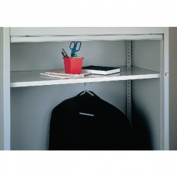 Bisley Shelf Wardrobe Grey 7035 BWSGY