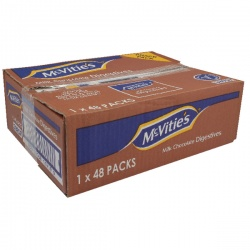 McVities Chocolate Digestive Biscuits Twin Pack (Pack of 48) A07384