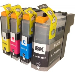 Brother LC123 Multipack BCMY - Compatible