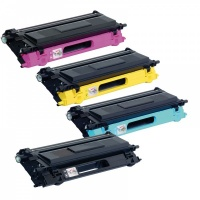 Brother TN130 Toner Set (BkCMY) - Remanufactured