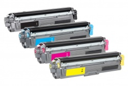 Compatible Brother TN241 B/C/Y/M Full Set of Toner Cartridges