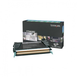 Lexmark C734A1KG Black Toner - Remanufactured