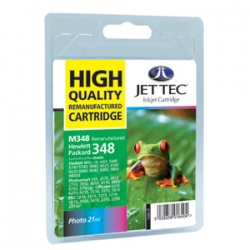 HP C9369EE (348) Photo Colour Ink Cartridge - Remanufactured