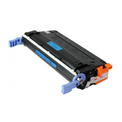 HP C9721A Toner Cartridge Cyan 8K - Remanufactured