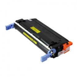 HP C9722A Toner Cartridge Yellow 8K - Remanufactured