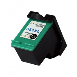 HP CB338EE (351XL) Colour Ink Cartridge - Remanufactured