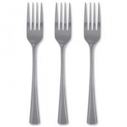 Stainless Steel Cutlery Forks (Pack of 12) F09452