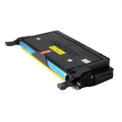 Samsung CLP-Y660B Yellow Toner - Remanufactured