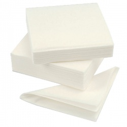 Paper Napkins 320mm 1-Ply White (Pack of 500)