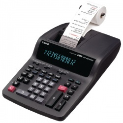 Casio 12 Digit Printing Calculator Black FR62TEC