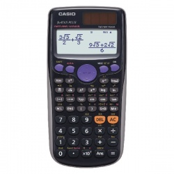 Casio Silver Scientific Calculator FX-85GTPLUS-SB-UT