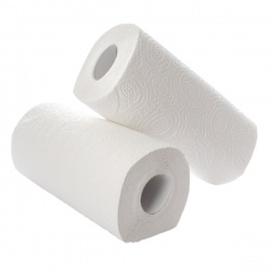Kitchen Roll (Pack of 2) x12 White KR0024