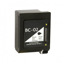 Remanufactured Canon 0881A002AA (BC02) Black Ink Cartridge