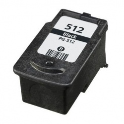 Remanufactured Canon 2969B001AA (PG-512) Black Ink Cartridge
