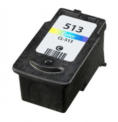 Remanufactured Canon 2971B001AA (CL-513) Colour Ink Cartridge