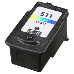 Remanufactured Canon 2972B001AA (CL-511) Colour Ink Cartridge