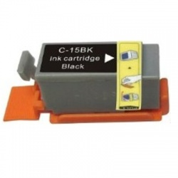 Compatible Canon 8190A002AA (BCI15) Black Ink Cartridge