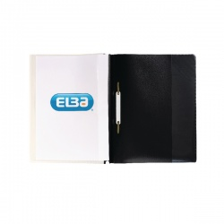 Elba Quotation A4 Folder Black (Pack of 25) 400055036