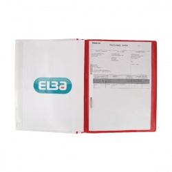 Elba Quotation A4 Folder Red (Pack of 25) 400055038