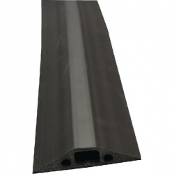 D-Line Black Medium Duty Floor Cable Cover 9m Long 68mm Wide FC68B/9M