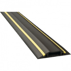D-Line Black/Yellow Medium Hazard Duty Floor Cable Cover 9m FC83H/9M