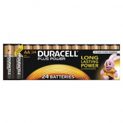 Duracell Plus Battery AA (Pack of 24) 81275383