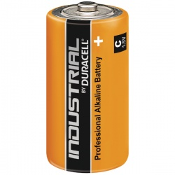 Duracell Industrial C Alkaline Batteries 81451925 (Pack of 10)