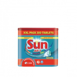 Diversey Sun Professional All in 1 Dishwasher Tablets (Pack of 200) 7515858