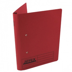 Rexel Jiffex Red A4 Transfer File (Pack of 50) 43248EAST
