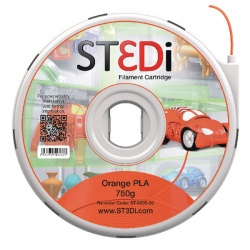 ST3Di Orange PLA 3D Printing Filament 750g ST-6006-00