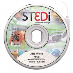 ST3Di White ABS 3D Printing Filament 750g ST-6012-00