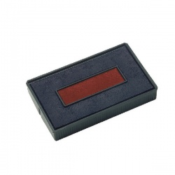 COLOP E/200/2 Replacement Stamp Pad Blue/Red (Pack of 2) E/200/2