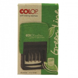 COLOP S226 Green Line Numbering Stamp GLS226