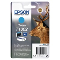 Epson T1302 Extra High Yield Cyan Inkjet Cartridge (C13T13024012)