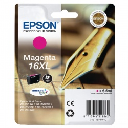 Epson 16XL Magenta High Yield Inkjet Cartridge C13T16334012 / T1633