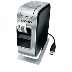 Dymo LabelManager Wireless Plug and Play Label Printer Silver and Black S0969040