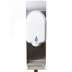 Floor Standing Automatic Touch Free Hand Sanitiser Gel Dispenser System