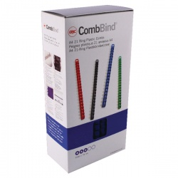 GBC Blue CombBind 14mm Binding Combs (Pack of 100) 4028238