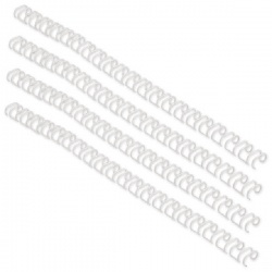 GBC WireBind Binding Wires 34 Loop 5mm A4 35 Sheet White (Pack of 100) 47901U