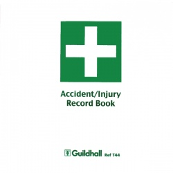 Guildhall Accident Book (Pack of 5) T44 TRAILBLAZER TESTING