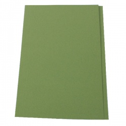 Guildhall Green Square Cut Folder Foolscap (Pack of 100) FS315-GREEN