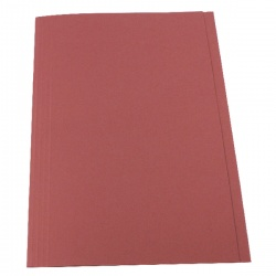 Guildhall Pink Square Cut Folder (Pack of 100) FS315-PINK