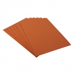 Guildhall Orange Square Cut Folder (Pack of 100) FS315-ORANGE
