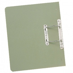 Guildhall Green Transfer Spring Foolscap File (Pack of 50) 348-GRN