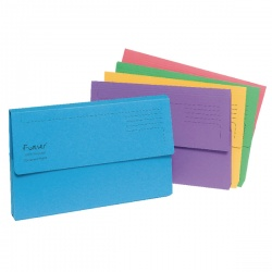 Guildhall Assorted Bright Manilla Foolscap (Pack of 25) 211/5000
