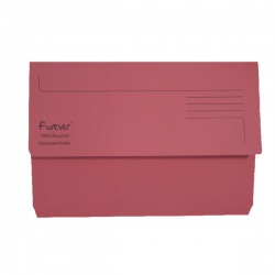 Guildhall Pink Bright Manilla Wallet Foolscap (Pack of 25) 211/5002
